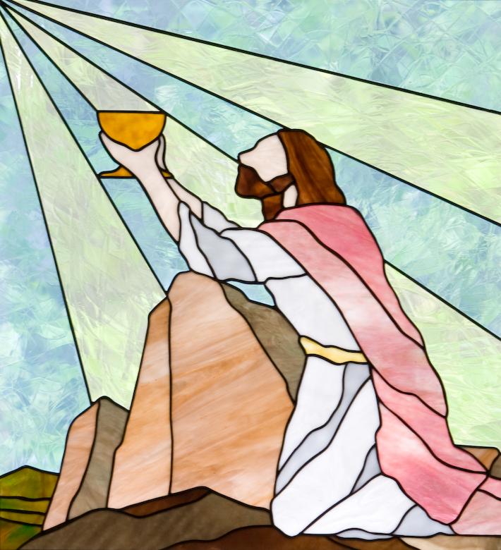 Luke 2242 window of prayer